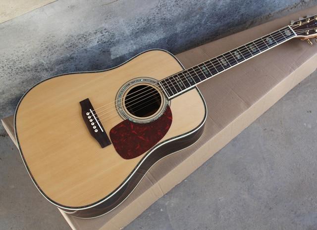 אבוני fretboard אקוסטית גיטרה AAA מוצק למעלה אקוסטית חשמלי גיטרה KSG OEM עגול גוף מותאם אישית גיטרה משלוח חינם אקוסטית