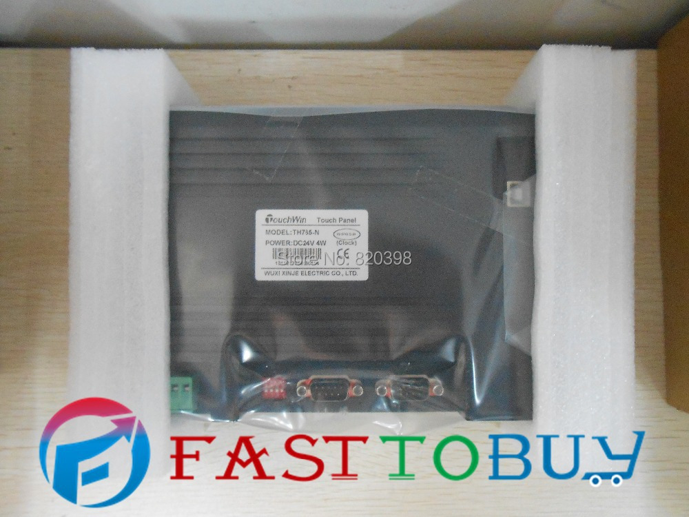 7 Inch HMI   TH765-N New with USB program download Cable tp760 765 hz d7 0 1221a