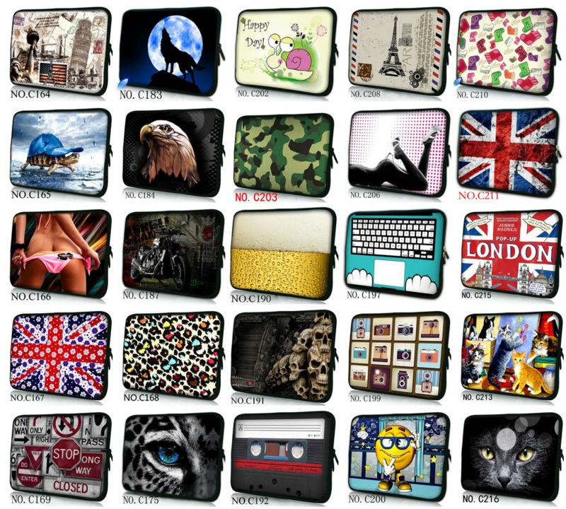 Waterproof Laptop Sleeve Bag Notebook Case Handbag For iPad Macbook Tablet PC 9.7 11.6 13 14 15 15.6 17 inch Womens Mens Kids