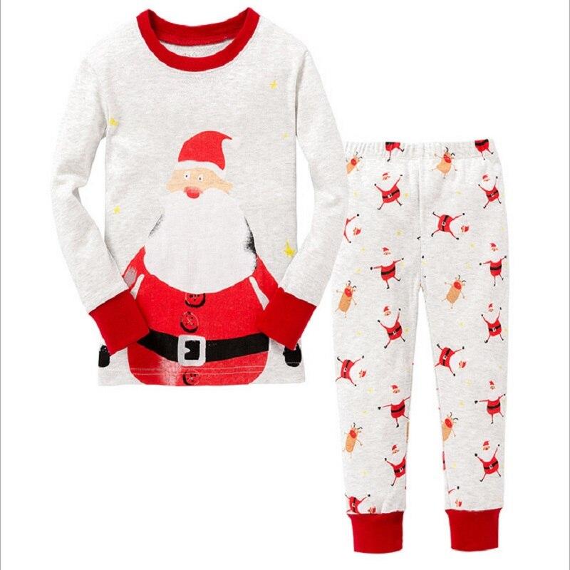 d1ed8cbfc Hooyi 2018 Baby Boys Clothes Suits Children Pajamas Kids Sleepwear ...