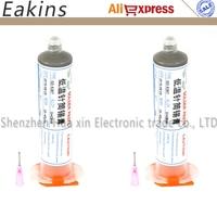 2 Pcs Low Temperature No Clean SMT Lead Free LED SMT Solder Paste SMD BGA Solder