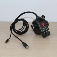 Factory supply tripod top handler zoom  aperture remote controller  CAM REMOTE 2.5MM DVC63 DVC180 153 AG130