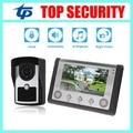 Новое прибытие красивый и качество IP65 водонепроницаемый 7 дюймов видео-телефон двери системы проводной видеодомофон система контроля доступа