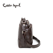 Cobbler Legend Brand Designer Women's Crossbody Bag Genuine Leather Shoulder Bags For Female Casual Bag Ladies Handbag 0910006-1