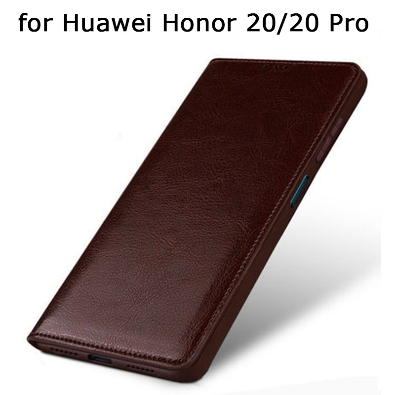 Genuine Leather Case for Huawei Honor 20/20 Pro Case Custom Personalized Cow Cover Shell for Huawei Honor20 Funda Skin|  - title=