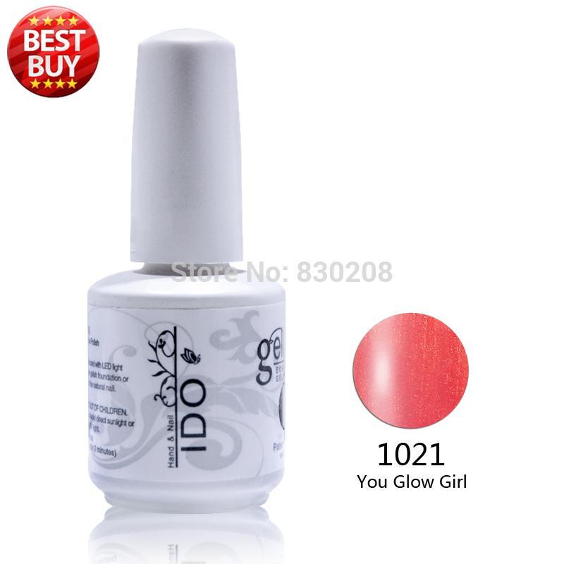 2017 Top Mode Salon Nail Gel Polish 12 pcs Top Coat + Couche de base Kit Ido Gel Vernis À Ongles Couleurs Uv Varnishe (10 couleurs + 1top + 1 de base)