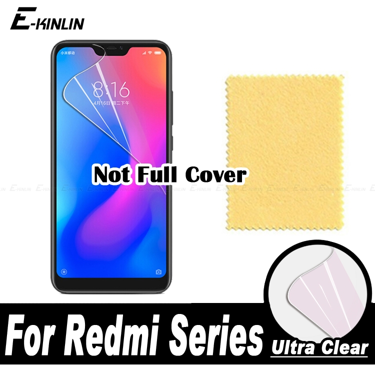 HD Screen Protector Display Protective Soft Film For XiaoMi RedMi 6 Pro Note 5 AI Dual Camera Note5 6Pro
