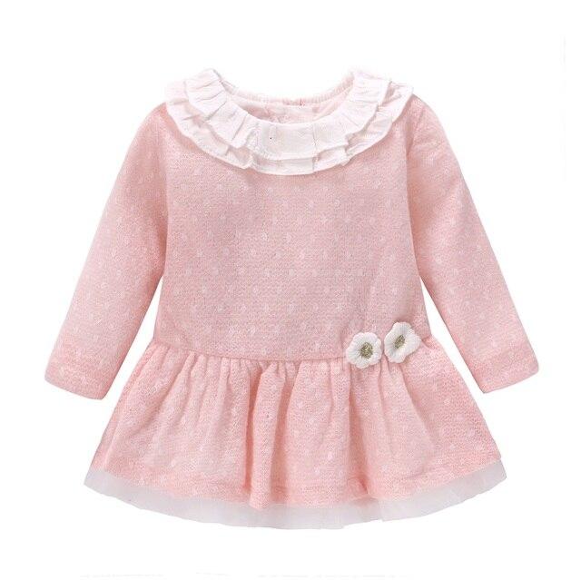 Meilleur Nouveau 2018 Bébé Filles Robe Laine Tricot Crochet