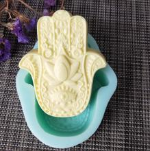 PRZY QT0122 Lotus in the palm silicone mold soap mould handmade soap making molds candle silicone mold resin clay mold qt0142 notebook silicone moldcard packaging silicone mold soap mold handmade soap moldcandle silicone moldresin clay mold