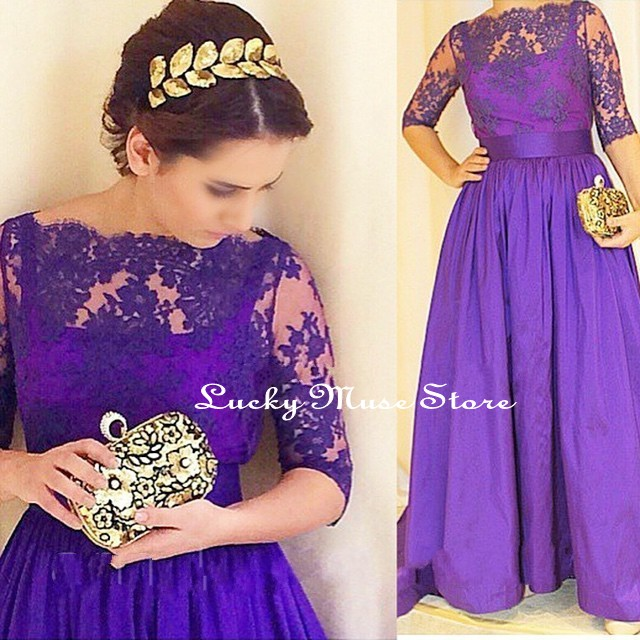 Popular Plus Size Purple Prom Dress-Buy Cheap Plus Size Purple ...