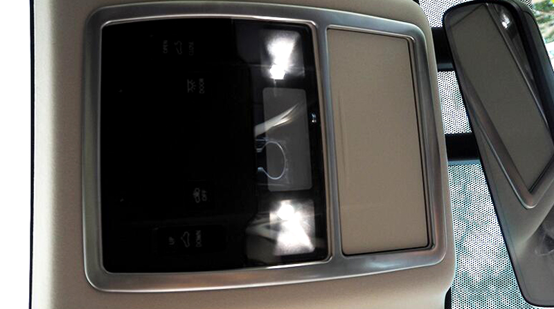 For Lexus RX200t RX450h 2016 Interior Reading light cover trim 2pcs