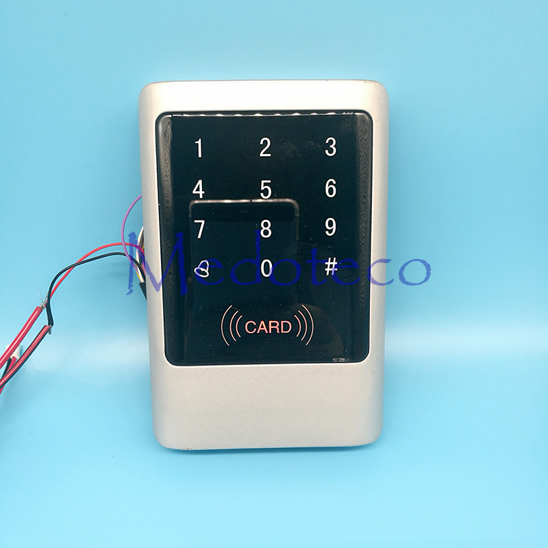 IP65 Waterproof Metal Rfid Access Controller 125Khz EM Card Access Control Outdoor Touch keypad Access Control System waterproof ip65 outdoor fingerprint access control outdoor access control with rfid card access controller tcp ip tf1700