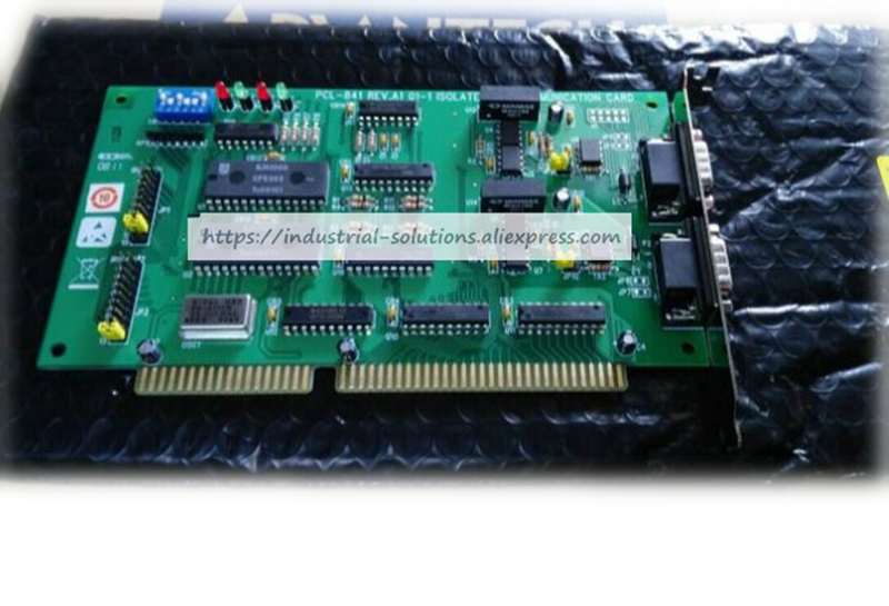 New for PCL-841 double port isolation CANREV.A1 industrial board 01-1 ISOLATED acquisition card