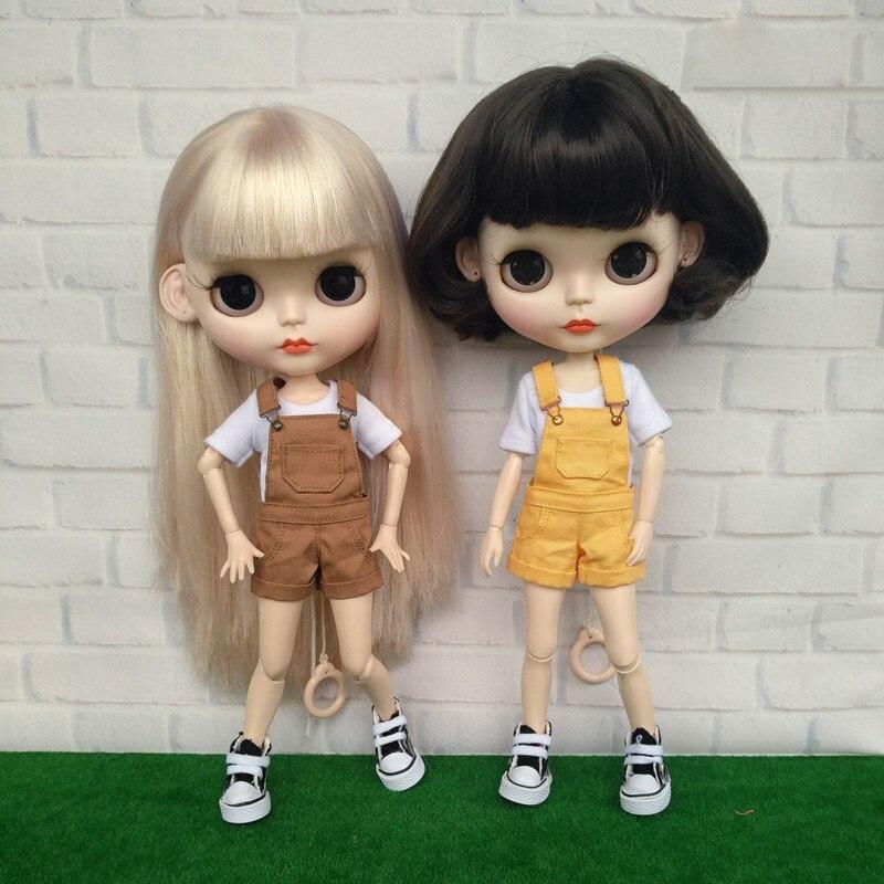 1PCS Blythe Denim skirt Azone Denim Skirt Doll Outfit fit pullip ob lati 1//6Doll