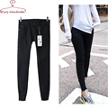 Women black Jeans White Jeans Mid-waist solid skinny elastic cotton Denim pants Women Jeggings trousers jeans feminine