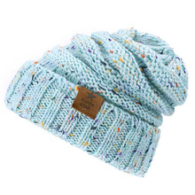 Winter Brand super star caps lady warm Winter Hat For Women Girl 'S Hat Knitted Beanies