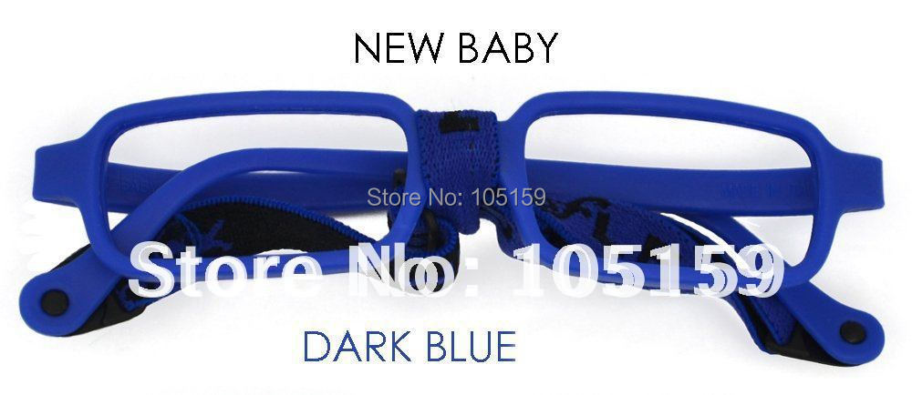 Child Eyewear Accessories Super Novasale Carbon Fiber Eyeglass Frames New Style kids Eyeglass Strap Without Lens