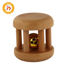 Montessori Material Baby Toys Bells with Ribbon Wooden Toy Preschool Education individual experiences with montessori and traditional education
