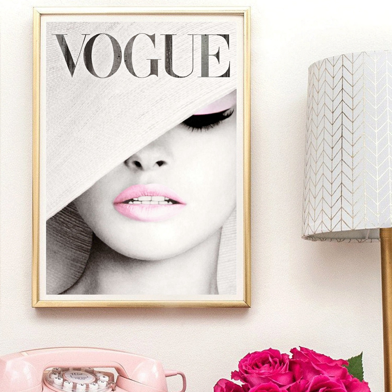 Vogue Canvas Painting