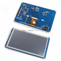 Consumer Electronics Shop Free Shipping SSD1963 7 TFT LCD Module Display Touch Panel Screen PCB Adapter