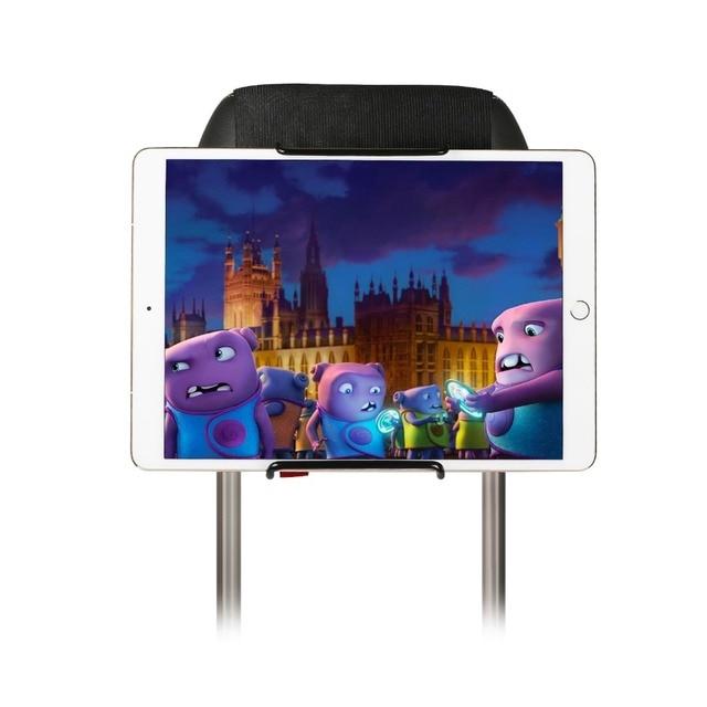 Support de support dappuie tête de support de tablette de siège arrière de voiture pour iPad 2/3/4/5/6, iPad mini 1/2/3/4, Samsung Galaxy Tab S, S2, S3, onglet Stands