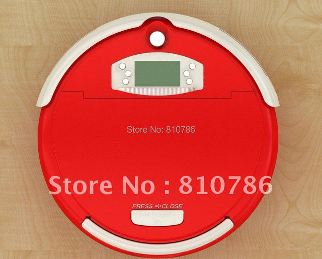For Russian Buyer/The Biggest  Dust Bin 0.7L Vacuum Cleaner Robot + Auto Recharged +Virtual Wall+Moping+UV lights
