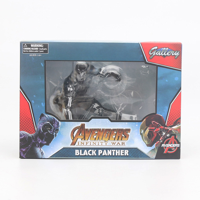 Black Panther PVC Statue