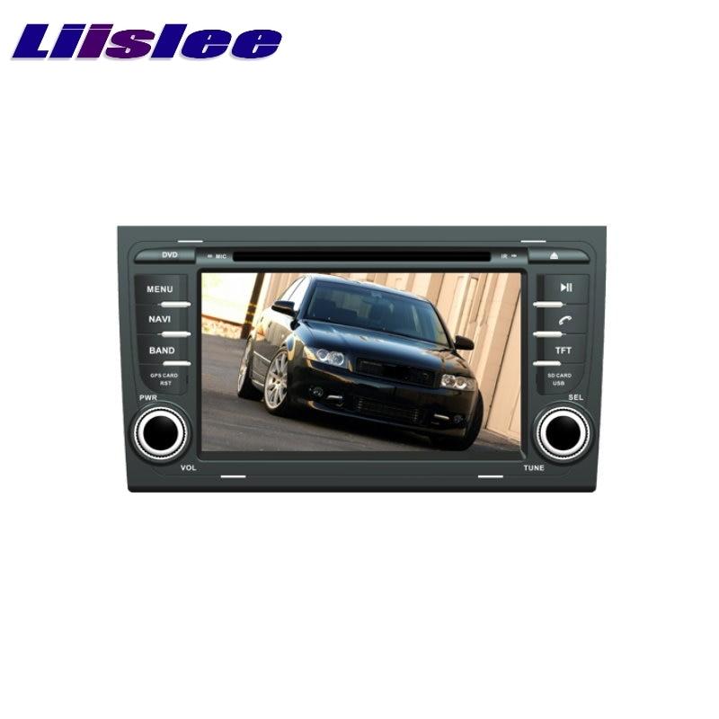 For AUDI A4 B6 B7 8E 8H 2002~2008 LiisLee Car Multimedia TV DVD GPS Audio Hi-Fi Radio Original Style Navigation Advanced NAVI original new den so dvd navigation mechanism rae3370 for toyo ta b9004 b9001 vw mercedes lexuss audi 2g car audio gps