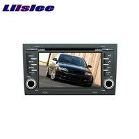For AUDI A4 B6 B7 8E 8H 2002~2008 LiisLee Car Multimedia TV DVD GPS Audio Hi Fi Radio Original Style Navigation Advanced NAVI