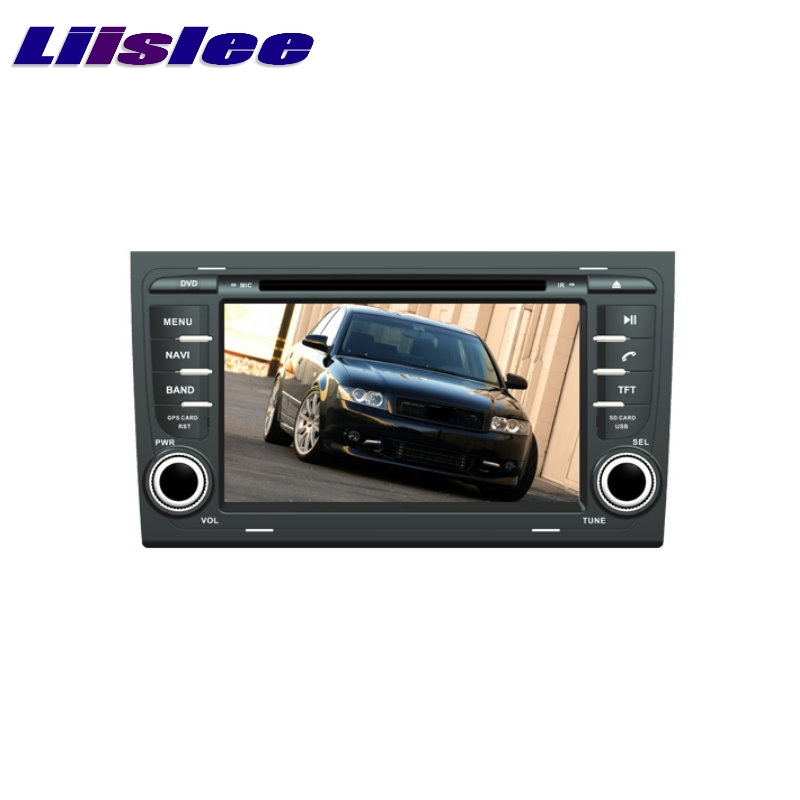 For <font><b>AUDI</b></font> <font><b>A4</b></font> <font><b>B6</b></font> B7 8E 8H 2002~2008 LiisLee Car <font><b>Multimedia</b></font> TV DVD GPS Audio Hi-Fi Radio Original Style Navigation Advanced NAVI image