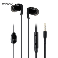 Mpow Sportfit Wired Earphone 3 5mm Stereo Sports Earbuds Headset Headphone With Mic And Remote Volume