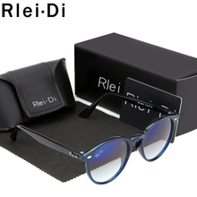 купить Round Sunglasses Women Vintage Glass Lens Eyewear Mirror Sunglasses For Men Retro Ladies Sunglasses UV400 Shades Male Rays по цене 846.99 рублей