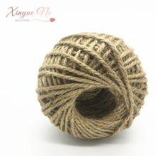 1 Roll 60M/width 3mm High Quality Natural Brown Jute Hemp Rope Twine String Cord Shank Craft Making DIY Tag Label Hang
