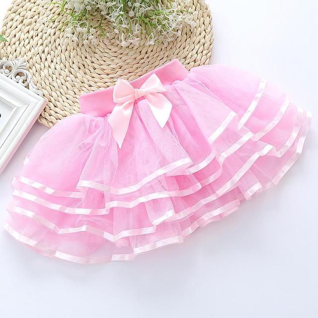2017 spring and summer children's girls veil big virgin princess tutu skirt cake skirt bust