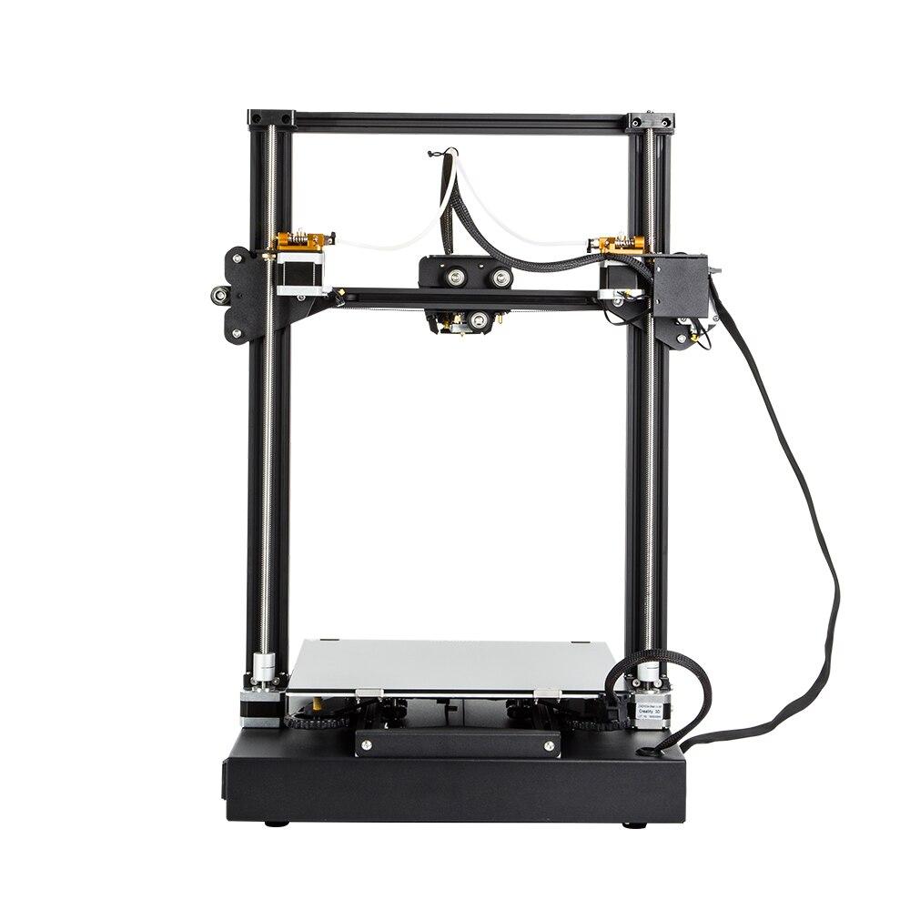 Creality 3D CR X 3D impresora de doble color opcional DIY KIT de pantalla táctil de 4,3 pulgadas de gran tamaño de impresión Dual ventilador de refrigeración v slot aluminio - 5