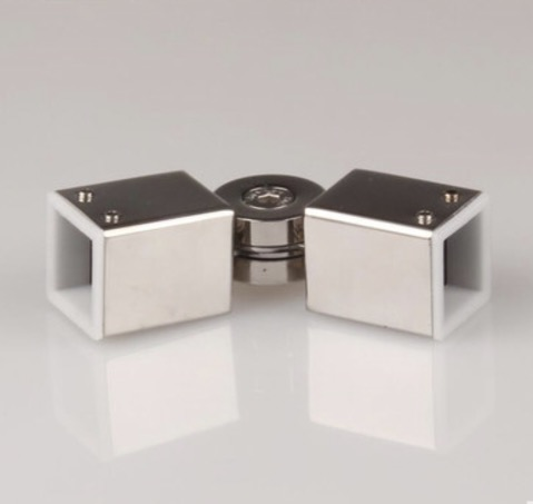 ( 25mm tube )304 stainless steel square tube rod accessories Bathroom square Activity corner