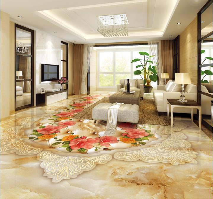 3d flooring customized 3d stereoscopic wallpaper Marble pattern photo  wallpaper murals 3d floor tiles kitchen. Compare Prices on Kitchen Floor Tile Patterns  Online Shopping Buy