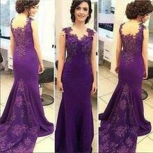 Neues Angebot Flügelärmeln Appliqued Lange Abendkleider Formale Kleid Party Kleider