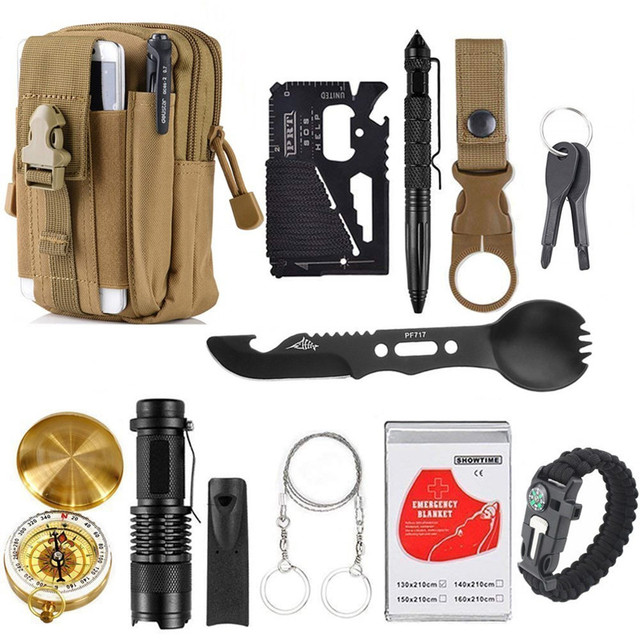 Details about  /4Pcs Stainless Steel Fishhook Card Outdoor Camping Hiking Survival Tool Portable