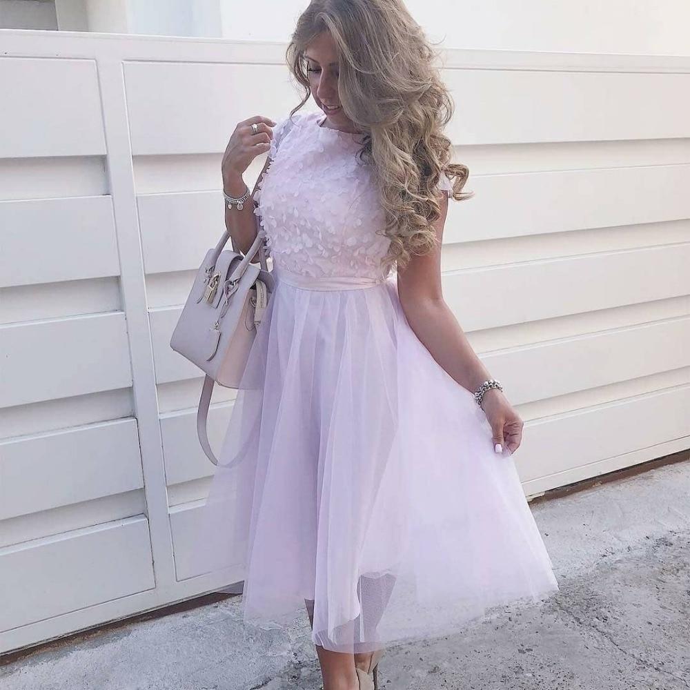 Коктейльные платья Плюс Размеры короткое вечернее платье для выпускного вечера 2019