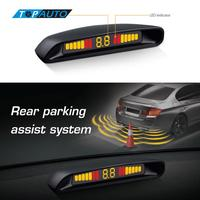 100 Original Steelmate Ebat C2 Parking Assist System Car LED Display Parking Sensor Reverse Radar Alert