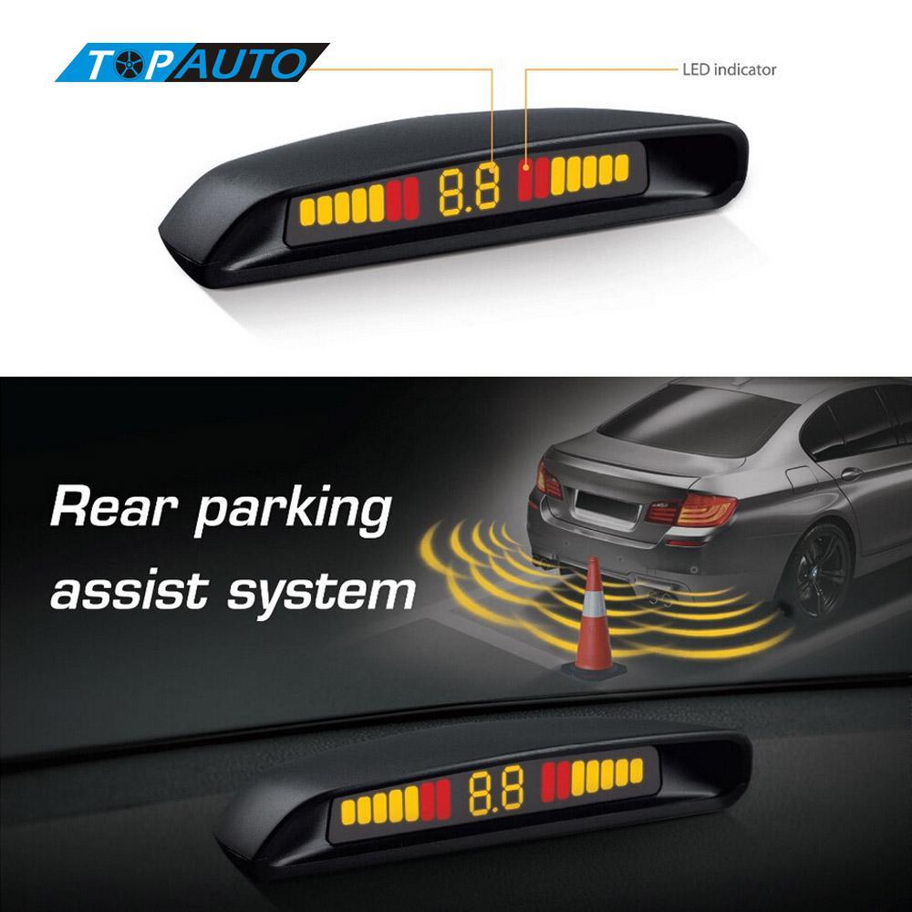 LED Car Parking Sensors Kit Original Ebat C2 Parking