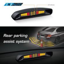 ВОДИТЬ Автомобиль Датчики Парковки Комплект Оригинальный Ебать С2 Система Помощи При Парковке СВЕТОДИОДНЫЙ Дисплей Помощи При Парковке Радар Парктроники