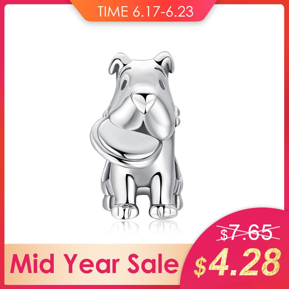 JewelryPalace 925 Sterling Silver Pet Love frisbee dog Charm Beads Beautiful Gifts 2018 New Hot Sale For Women Fashion JewelryJewelryPalace 925 Sterling Silver Pet Love frisbee dog Charm Beads Beautiful Gifts 2018 New Hot Sale For Women Fashion Jewelry