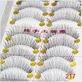 10 par de novos cílios postiços preto longo grosso natural falso eye lashes extensão lashes maquiagem ferramentas de maquiagem beauty cosméticos