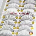 10pair New False Eyelashes Black Long Thick Natural Fake Eye Lashes Extension Lashes Makeup Beauty Tools Maquiagem Cosmetic