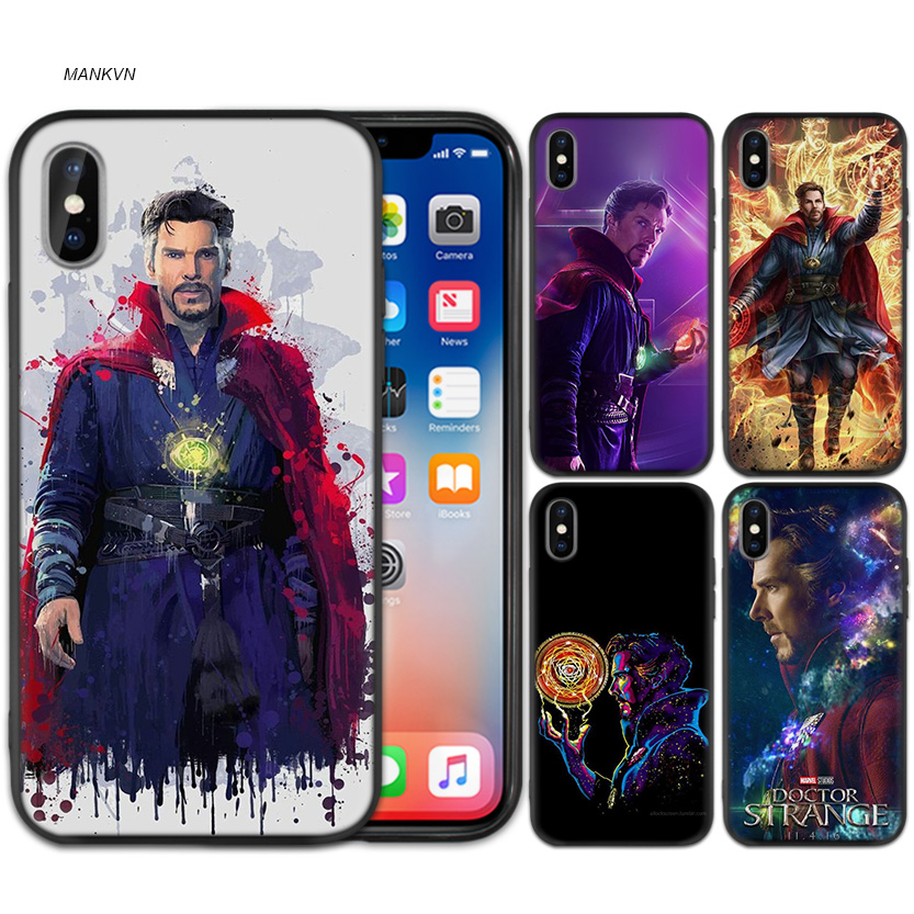 Cellphones & Telecommunications Phone Bags & Cases Case Cover For Iphone Xs Max X Xr 6 6s 7 8 Plus 5 Se 5s Scrub Silicone Phone Cases Soft Marvel Doctor Strange Tpu Bright And Translucent In Appearance