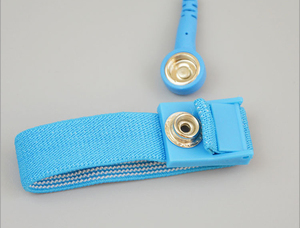 Image 4 - ESD Antistatic Anti Static Wristband Wrist Strap Components with removable cable Discharge Cables For Electrician Tools BLUE