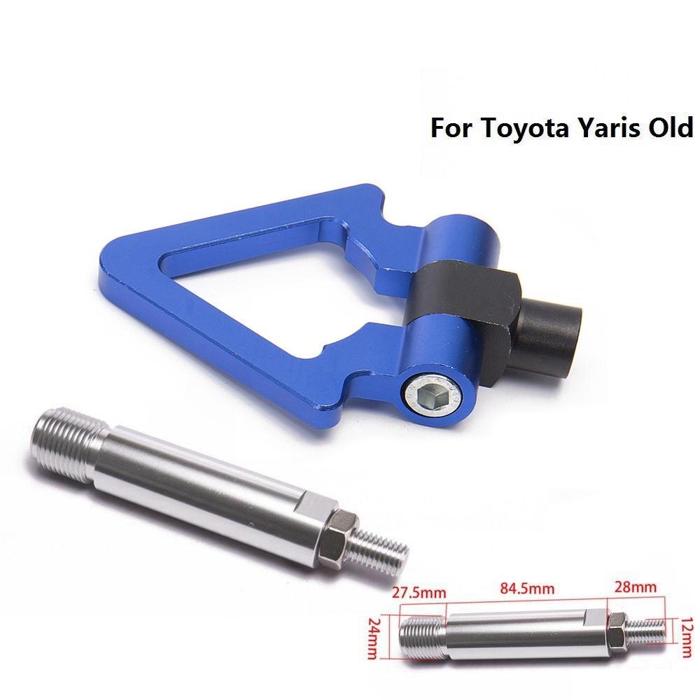 Спортивный EPMAN Jdm Алюминиевый Forge передний фаркоп передний задний для Toyota Yaris старый EP-RTHLPH007 - Название цвета: Blue