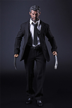 1/6 Wolverine Logan Full Set Action Figures Black Suit Body Head with Accessories